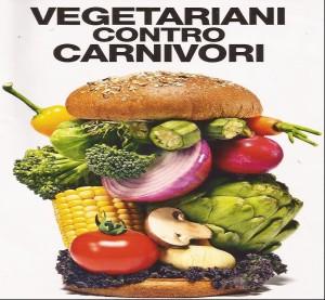 vegetariani contro carnivori