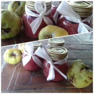 marmellata di mele cotogne ed uva fragola